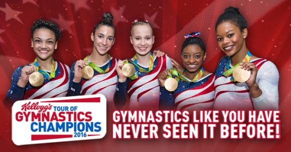 Kellogg's Tour of Gymnastics Champions at Verizon Center
