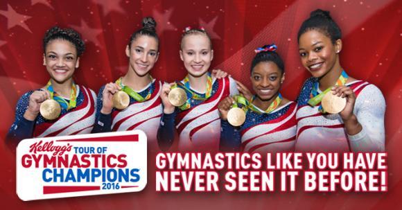 Kellogg's Tour of Gymnastics Champions at Verizon Center