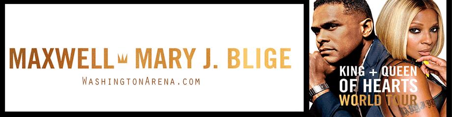 Maxwell & Mary J. Blige at Verizon Center