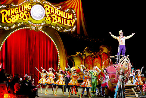 Ringling Bros. and Barnum & Bailey Circus at Verizon Center