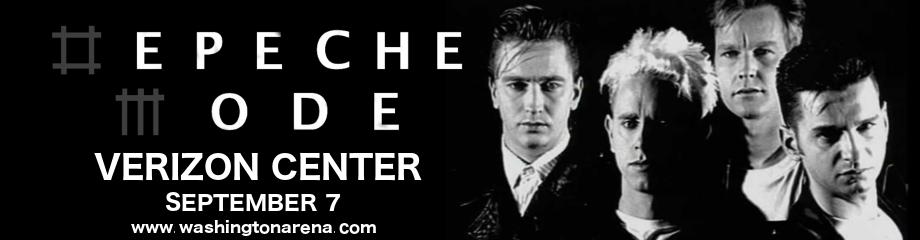 Depeche Mode at Verizon Center