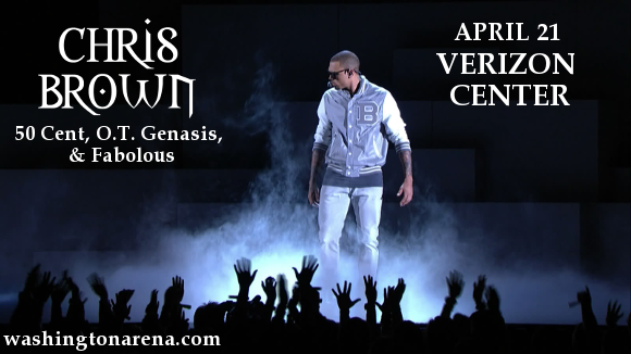 Chris Brown, 50 Cent, OT Genasis & Fabolous at Verizon Center