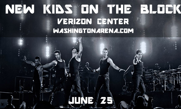 New Kids On The Block, Paula Abdul & Boyz II Men at Verizon Center