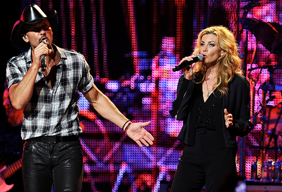 Tim McGraw & Faith Hill at Verizon Center