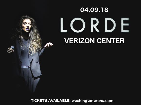 Lorde at Verizon Center