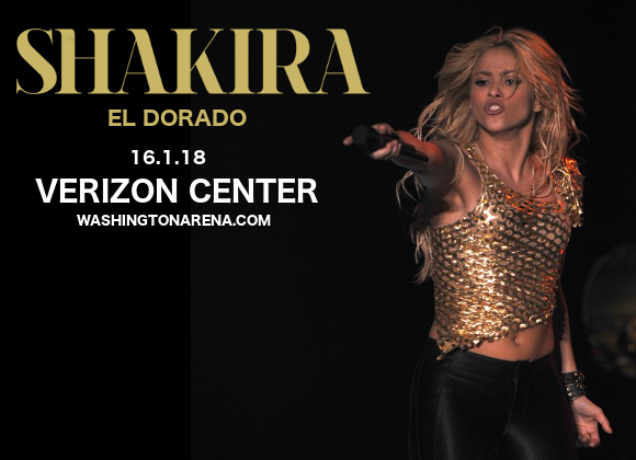Shakira at Verizon Center