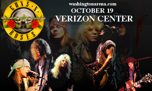Guns N' Roses at Verizon Center