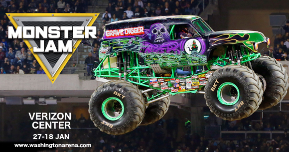 Monster Jam at Verizon Center