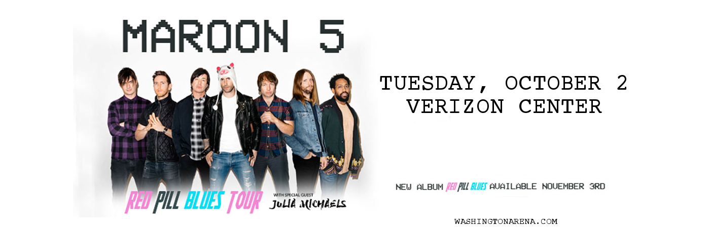 Maroon 5 & Julia Michaels at Verizon Center