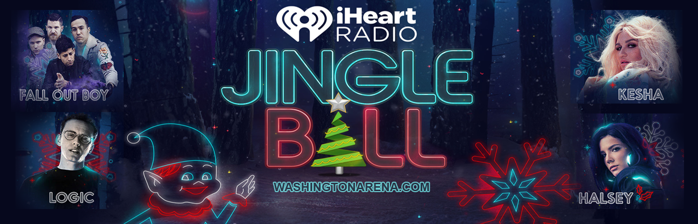 Hot 99.5's Jingle Ball: Fall Out Boy, Charlie Puth, Halsey & Kesha at Verizon Center