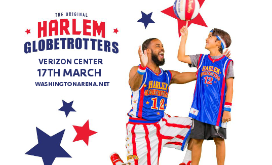 The Harlem Globetrotters at Verizon Center