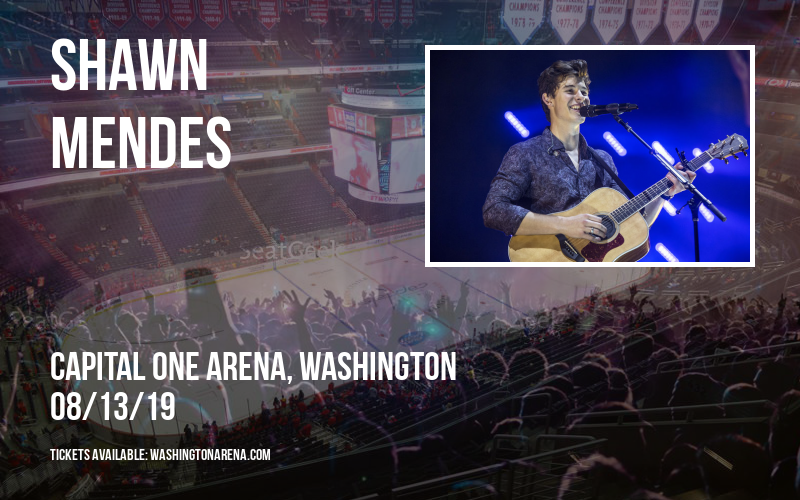 Shawn Mendes at Capital One Arena