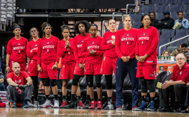 WNBA Finals: Washington Mystics vs. TBD (If Necessary - Date: TBD) - Home Game 1 at Capital One Arena