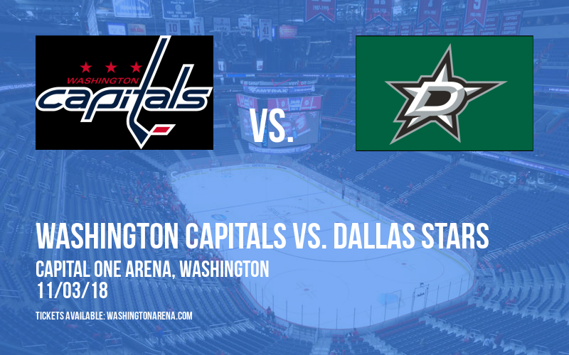 Washington Capitals vs. Dallas Stars at Capital One Arena