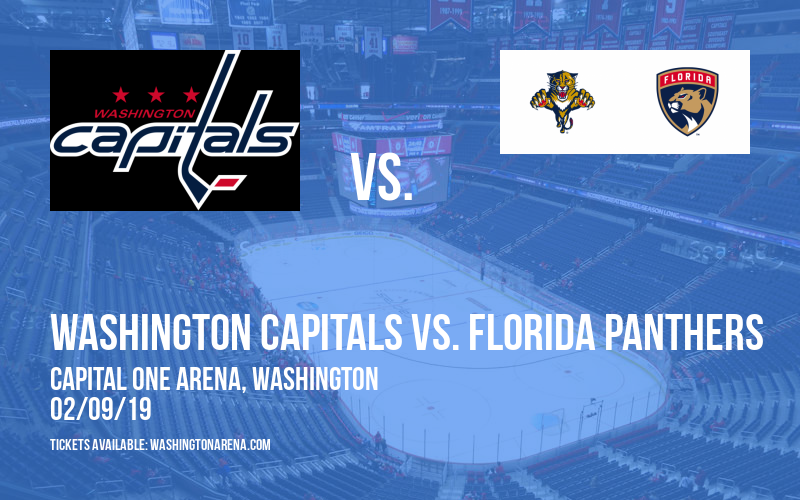 Washington Capitals vs. Florida Panthers at Capital One Arena