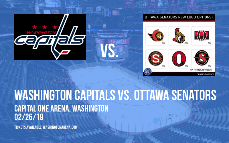 Washington Capitals vs. Ottawa Senators at Capital One Arena