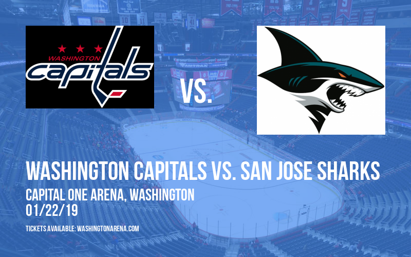 Washington Capitals vs. San Jose Sharks at Capital One Arena