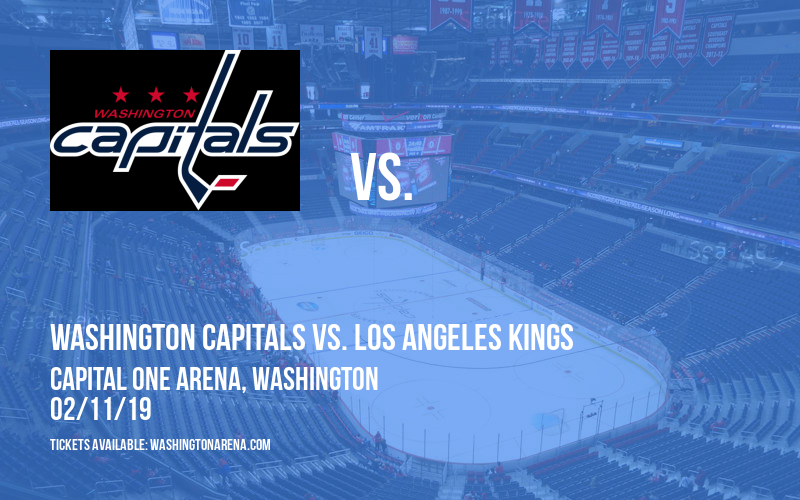 Washington Capitals vs. Los Angeles Kings at Capital One Arena