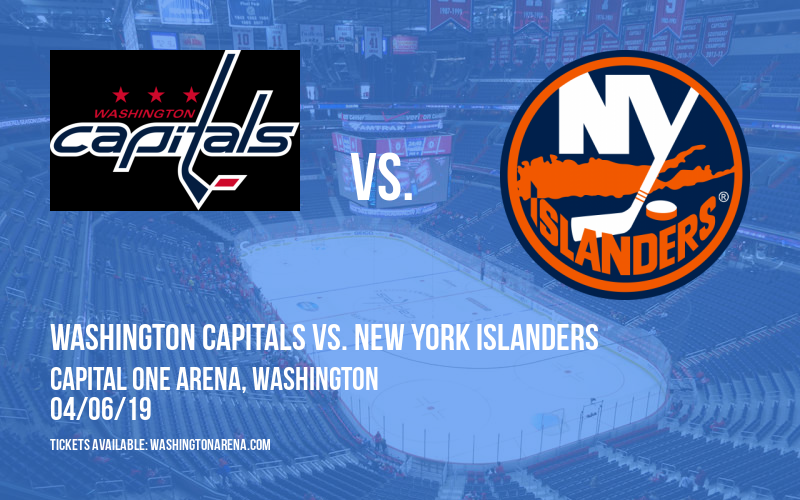 Washington Capitals vs. New York Islanders at Capital One Arena