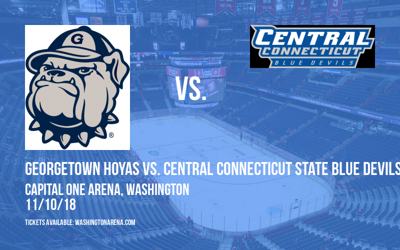 Georgetown Hoyas vs. Central Connecticut State Blue Devils at Capital One Arena