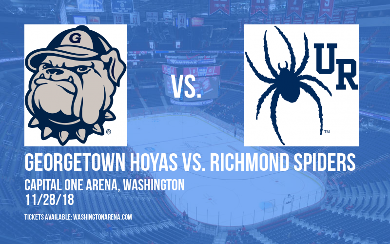 Georgetown Hoyas vs. Richmond Spiders at Capital One Arena
