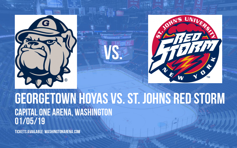 Georgetown Hoyas vs. St. Johns Red Storm at Capital One Arena