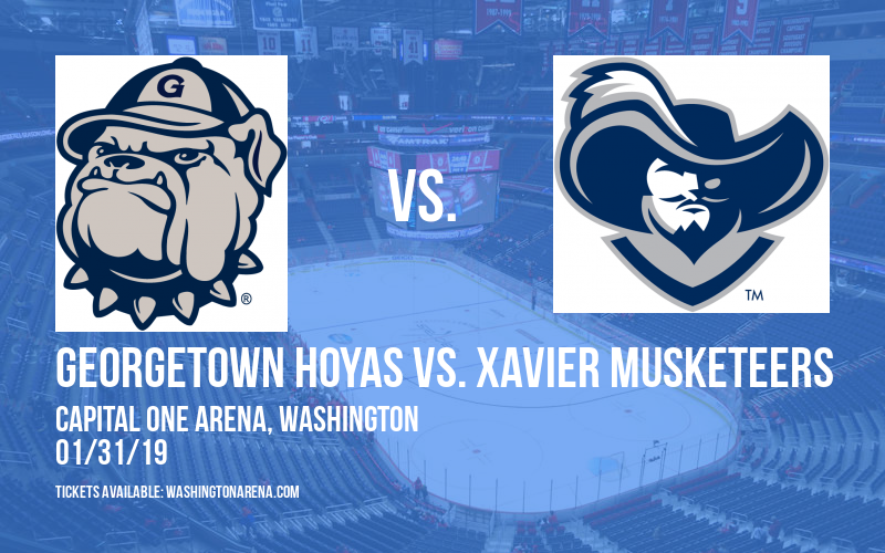 Georgetown Hoyas vs. Xavier Musketeers at Capital One Arena