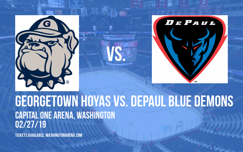 Georgetown Hoyas vs. DePaul Blue Demons at Capital One Arena