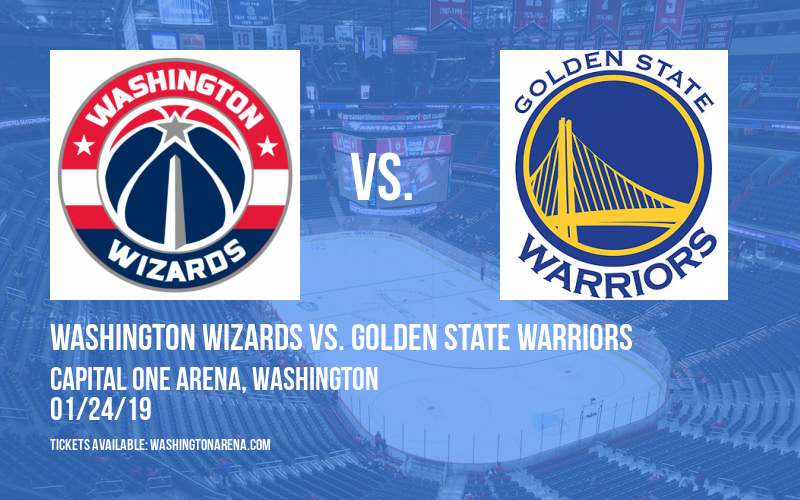 Washington Wizards vs. Golden State Warriors at Capital One Arena