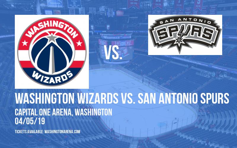 Washington Wizards vs. San Antonio Spurs at Capital One Arena