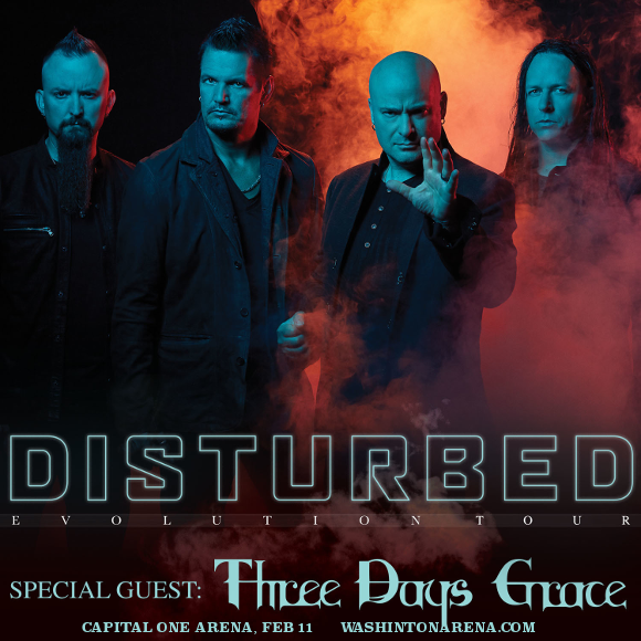 Disturbed & Three Days Grace at Capital One Arena