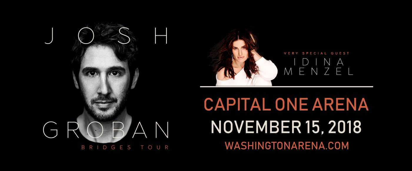 Josh Groban & Idina Menzel at Capital One Arena