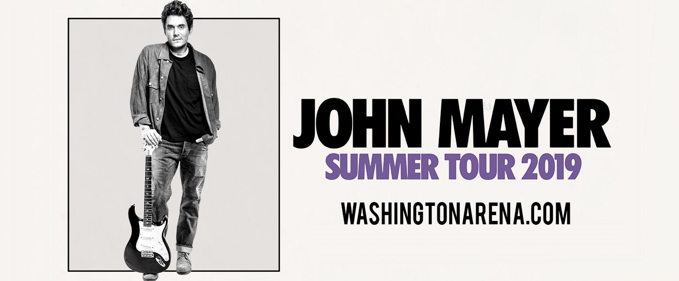 John Mayer at Capital One Arena