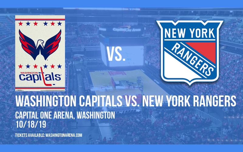 Washington Capitals vs. New York Rangers at Capital One Arena
