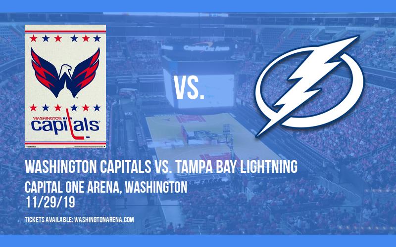 Washington Capitals vs. Tampa Bay Lightning at Capital One Arena