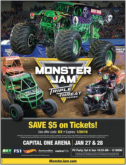 Monster Jam Triple Threat Series at Capital One Arena