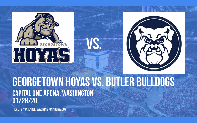 Georgetown Hoyas vs. Butler Bulldogs at Capital One Arena