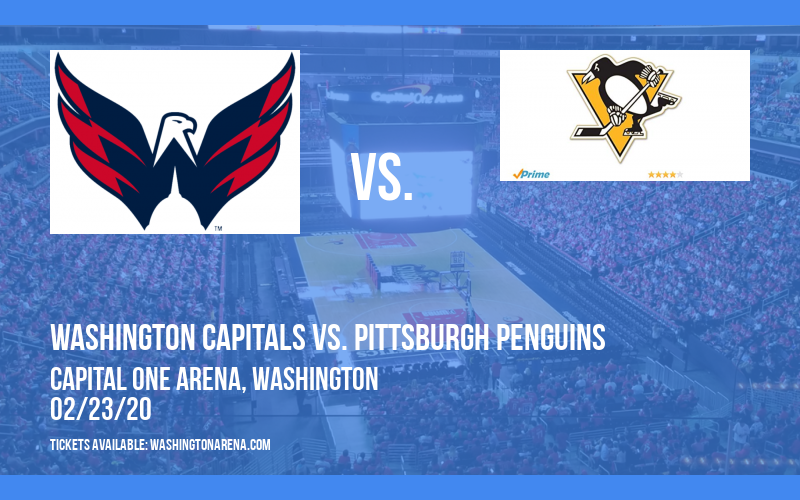 Washington Capitals vs. Pittsburgh Penguins at Capital One Arena