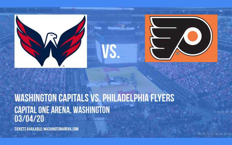 Washington Capitals vs. Philadelphia Flyers at Capital One Arena