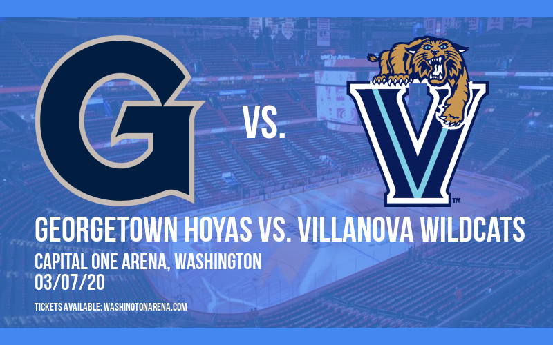 Georgetown Hoyas vs. Villanova Wildcats at Capital One Arena