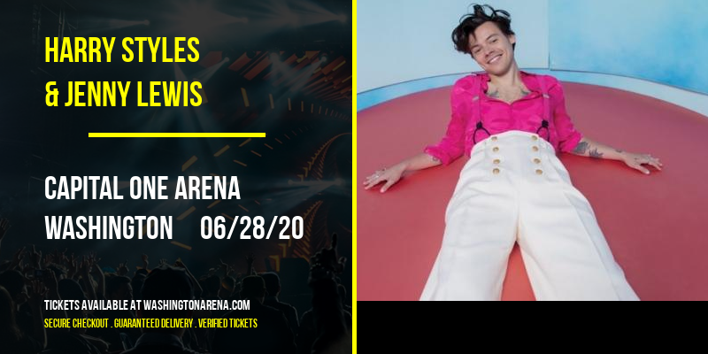 Harry Styles & Jenny Lewis at Capital One Arena