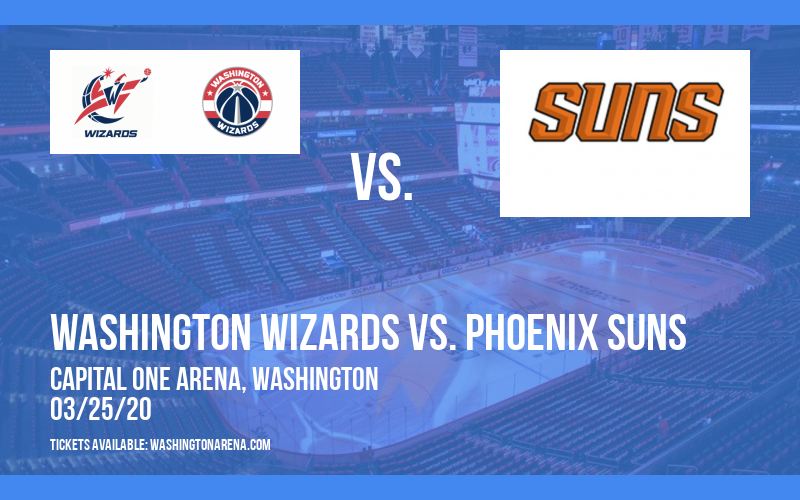 Washington Wizards vs. Phoenix Suns at Capital One Arena