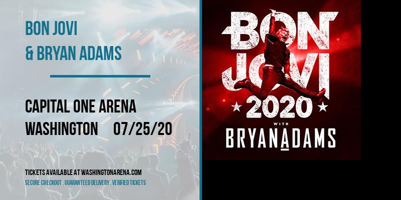 Bon Jovi & Bryan Adams at Capital One Arena