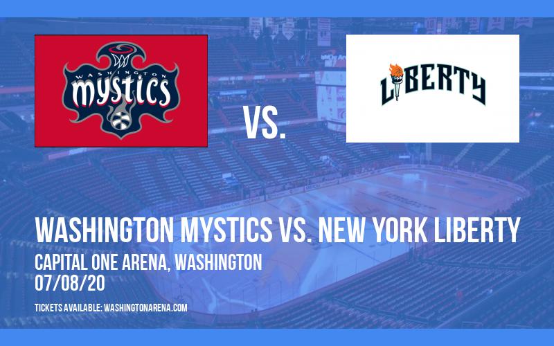 Washington Mystics vs. New York Liberty at Capital One Arena