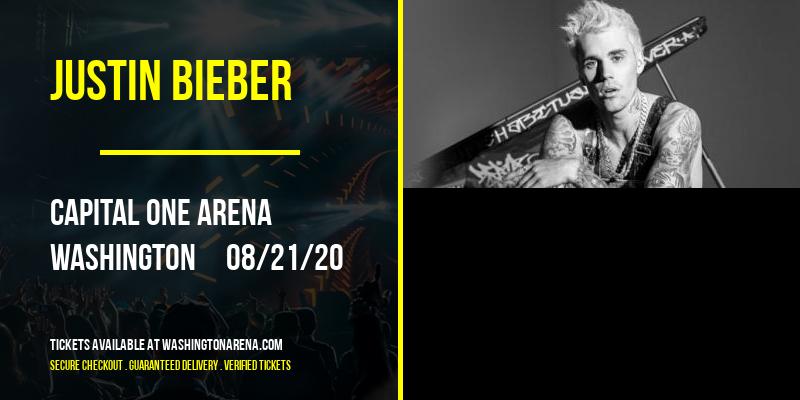 Justin Bieber [POSTPONED] at Capital One Arena
