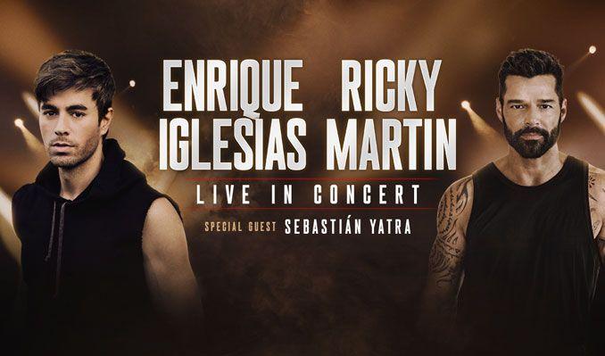 Enrique Iglesias & Ricky Martin at Capital One Arena