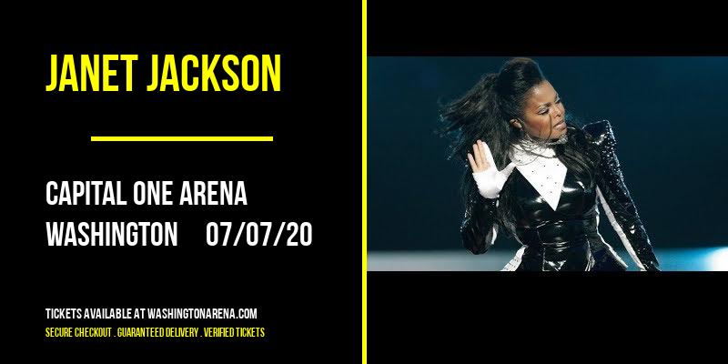 Janet Jackson [POSTPONED] at Capital One Arena