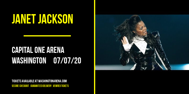 Janet Jackson [CANCELLED] at Capital One Arena