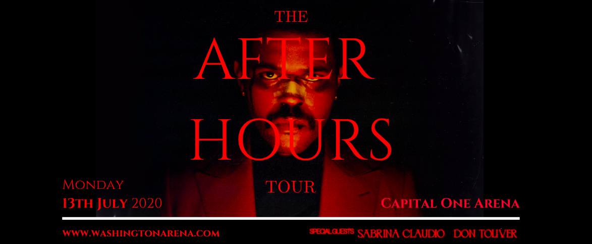 The Weeknd, Sabrina Claudio & Don Toliver at Capital One Arena