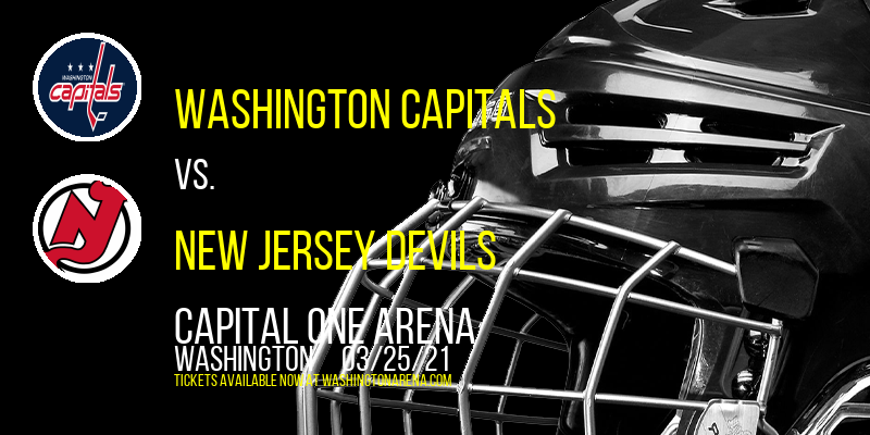 Washington Capitals vs. New Jersey Devils at Capital One Arena